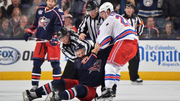 Chris Kreider Fight 10-11