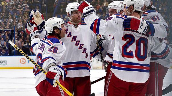 Rangers Celebrate 10-9