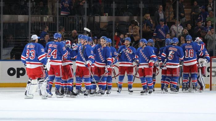 Rangers team 10-27