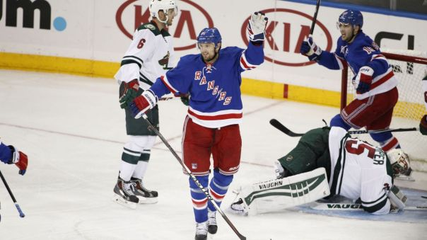 Rick Nash goal celebration 10-27