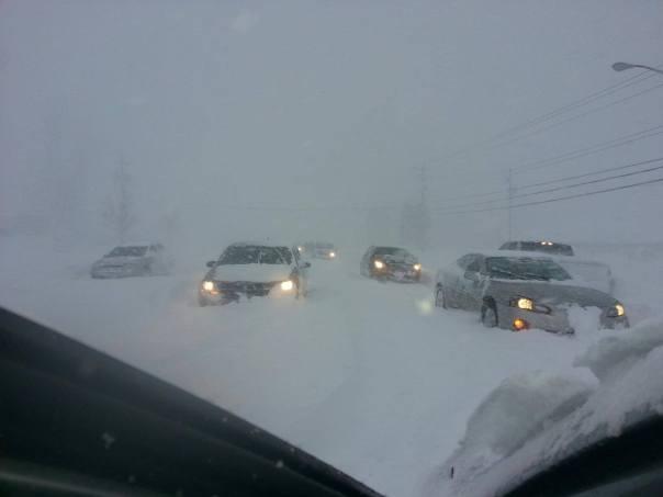 buffalo highway snow storn 11-20