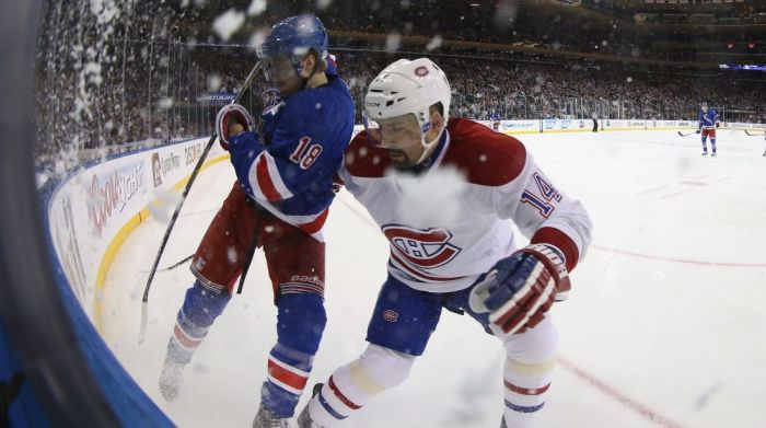 Marc Staal vs canadiens