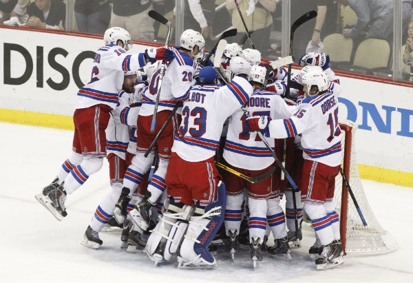 rangers beat penguins game 7 2014