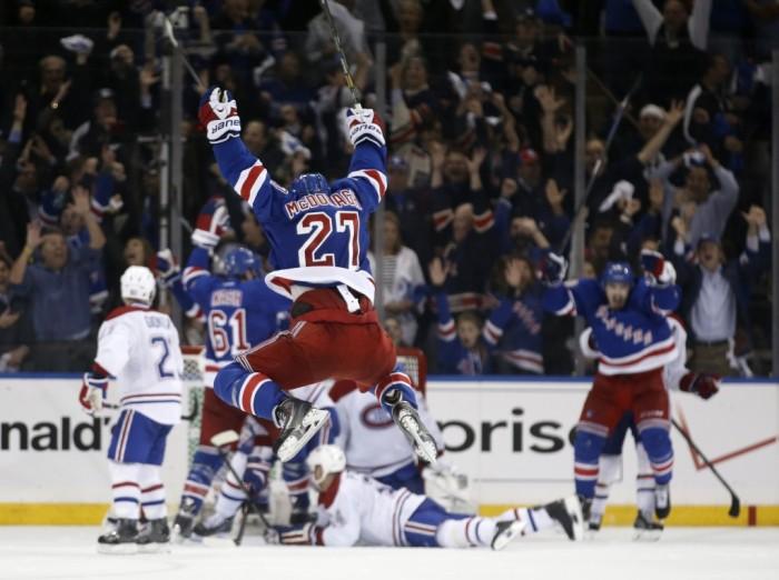 The Rangers Celebrate!