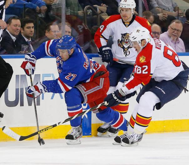 rangers and panthers