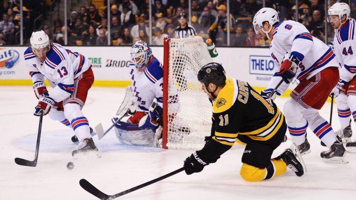 Rangers vs Bruins 1-15