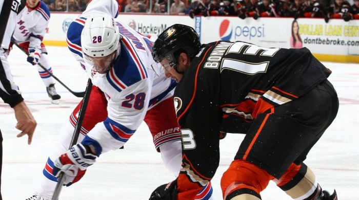 rangers vs ducks