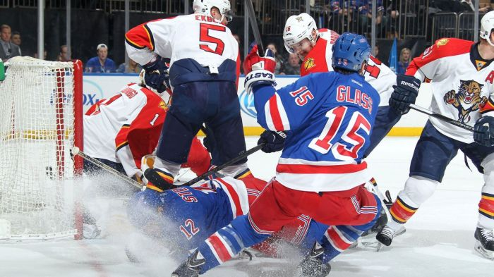 rangers vs panthers 2-2
