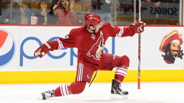 keith Yandle goal celebration