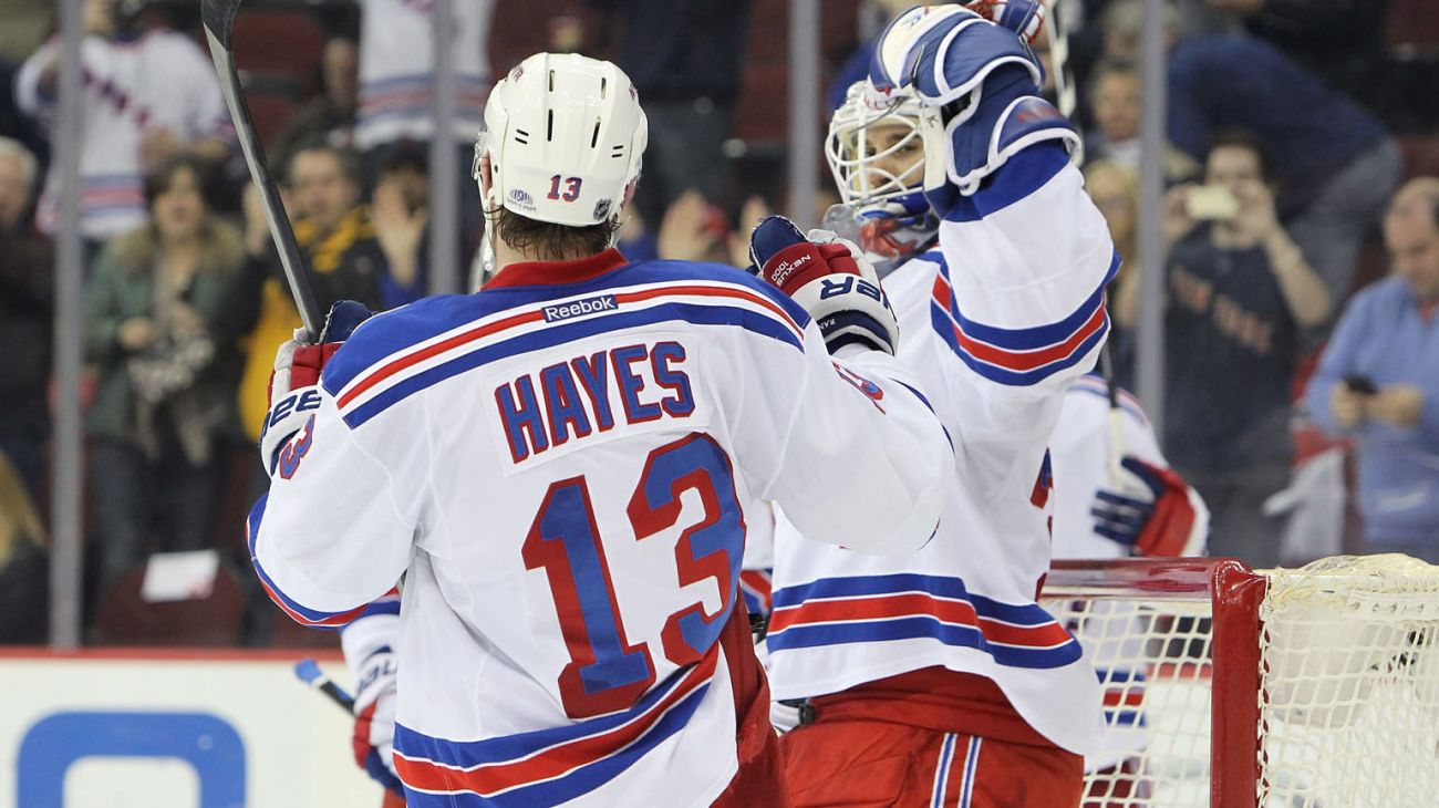 a26c2dd4f The New York Rangers clinch the President s Trophy with 4-2 win in ...