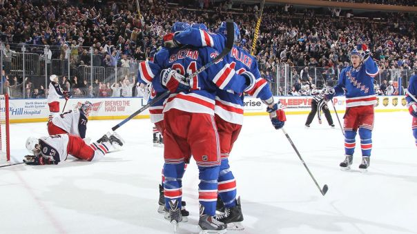 derek stepan goal celebration 2 4-6