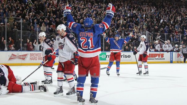 derek stepan goal celebration 3 4-6
