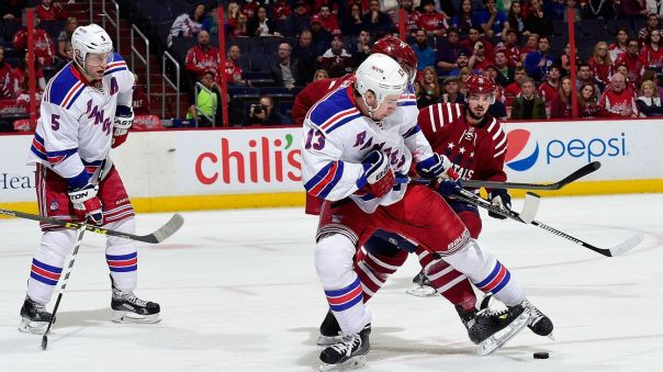 rangers vs capitals 4-11
