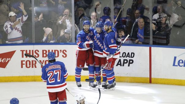 derek stepan goal celebration 5-16