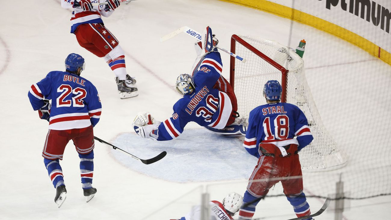 Rangers Pick Up A Win At Home In A Battle Of Goaltenders