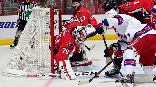 Rangers vs capitals Game 4 holtby 5-6