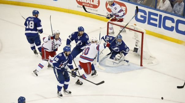 Rangers vs lightning 5-20