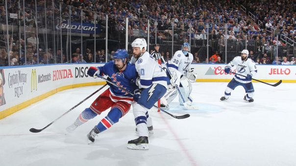 rangers vs lightning 5-24