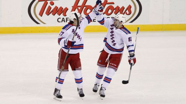 keith yandle and ryan mcdonagh hi five 4-7