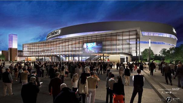 Videotron Centre rendering