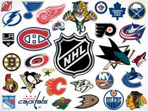 NHL team logos