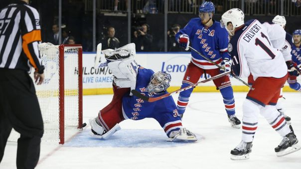 Henrik Lundqvist around the world save 10-10