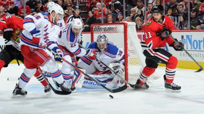 Rangers vs Blackhawks 10-7