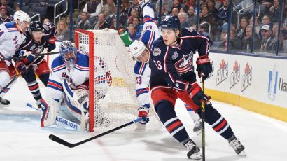 rangers vs blue jackets 1-16