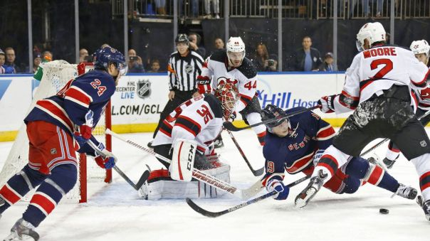 Rangers vs Devils 10-18