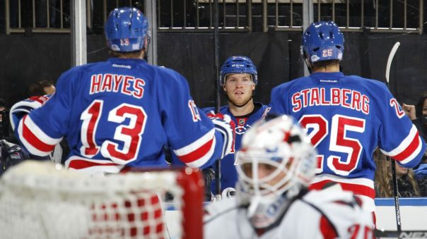 Kevin Hayes and Stalberg and Lindberg 11-3