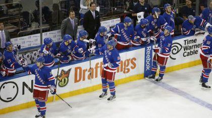Rangers hi five line 10-22
