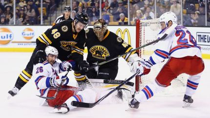rangers vs bruins 11-27