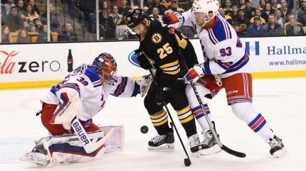 Rangers vs Bruins 3-28