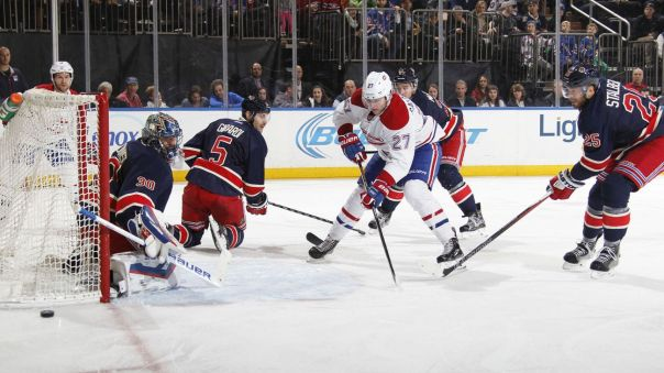 rangers vs canadiens 11-25