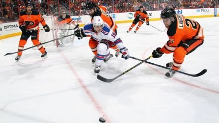 Rangers vs Flyers 10-24