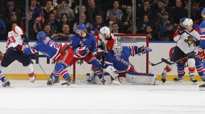 rangers vs panthers 3-15