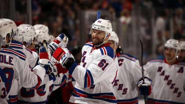 rick nash hi five line 11-21