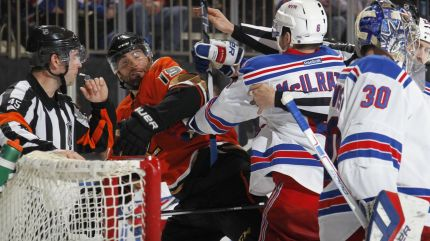 rangers vs ducks battle 12-22