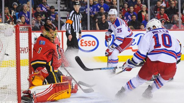 rangers vs flames 12-12