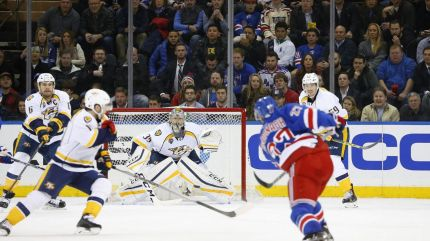 rangers vs predators 11-23