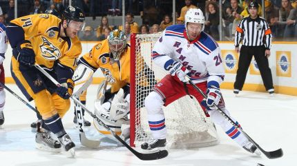 rangers vs predators 12-28