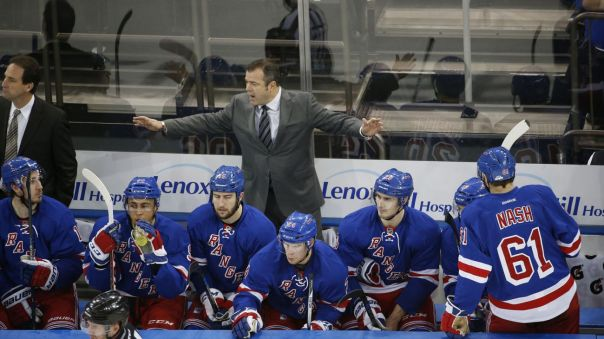 alain vigneault on bench 12-15