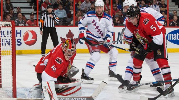 Rangers vs Senators 1-24