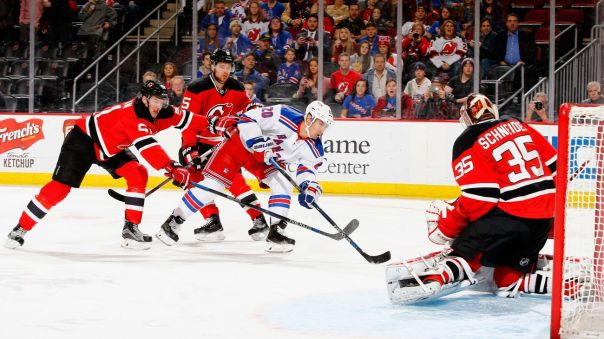 Rangers vs Devils 2-2