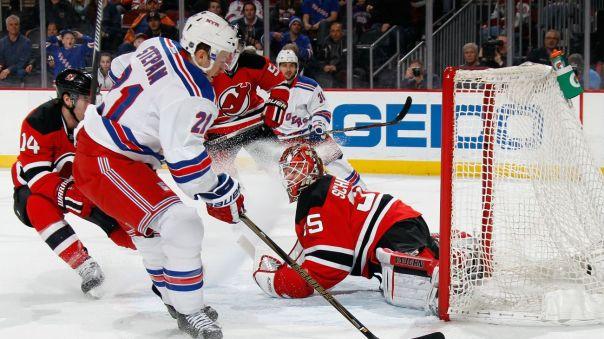 Rangers vs Devils 2-23
