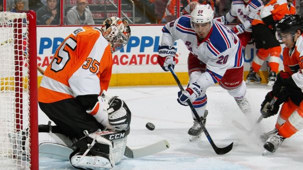 rangers vs flyers 1-16
