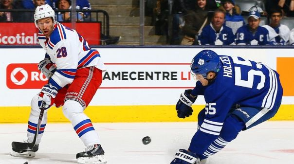 Rangers vs Maple Leafs