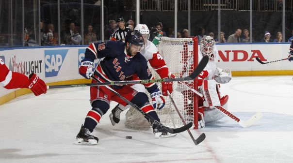 Rangers vs Red Wings 2-21