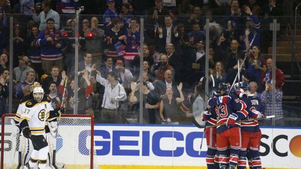 Rangers celebrate a goal 3-23
