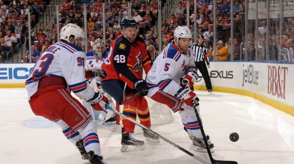 Rangers vs Panthers 1-2